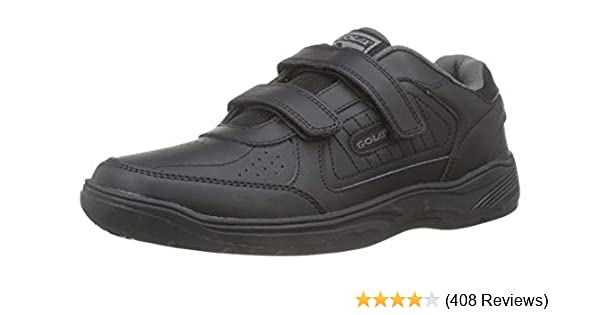 7f5d48979 Mens Gola Belmont Wide Fit Coated Leather Trainers