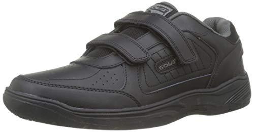 Gola Ama202 Belmont Hombre Velcro Negro Zapatillas