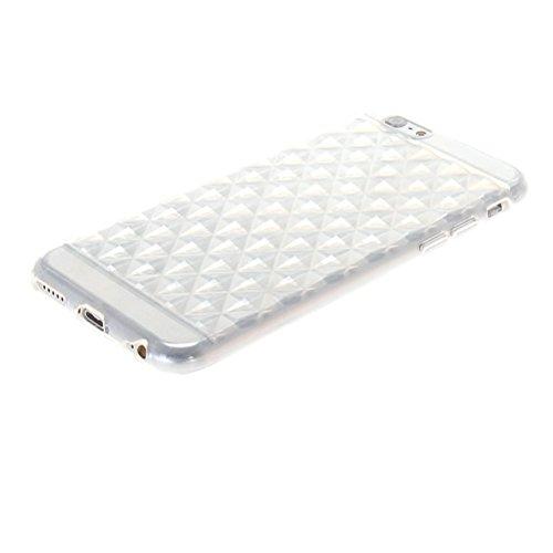 MOONCASE TPU Silicone Housse Coque Etui Gel Case Cover Pour Apple iPhone 6 ( 4.7 inch ) Claire Claire