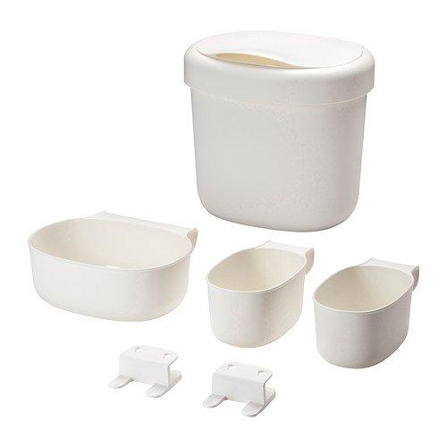 IKEA 5054809397460 ÖNSKLIG Behälter 4er-Set, weiß