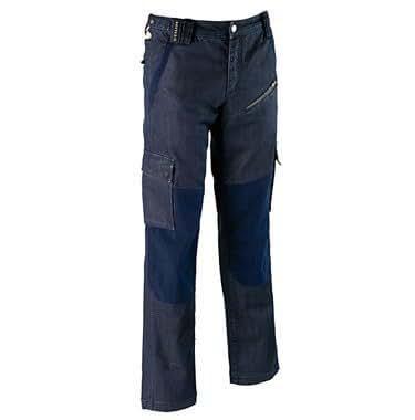 Diadora - Utility Hommes Pantalons Weeking EN340 - Couleur : D'Un Bleu Profond - Taille : XXL
