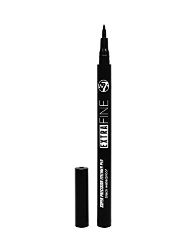 Automatic Eye Liner (W7 Extra Fine Automatic Eyeliner wasserfest, 1er Pack (1 x 0.7 grams))