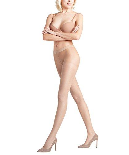 FALKE Damen Strumpfhosen Shaping Top 20 DEN, Transparente, Matt, 1 Stück, Beige (Cocoon 4059), Größe: M-L