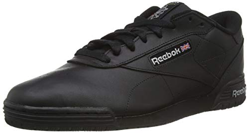 Reebok Exofit Lo Clean Logo, Zapatillas Para Hombre, Negro AR3168_39 EU_Black/Silver/Silver, 42 EU
