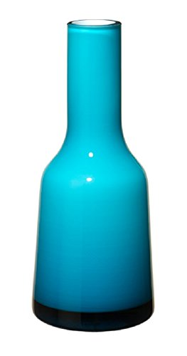 Villeroy & Boch Nek Mini Vase Caribbean Sea, 20 cm, Glas, Blau/Türkis (Glas Vase Blau)