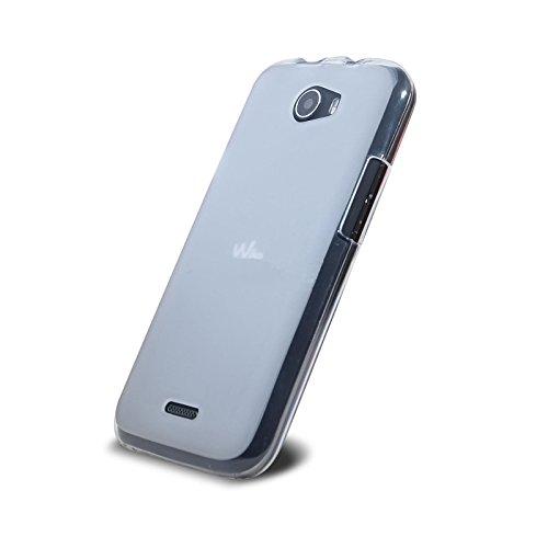 Wiko Barry Hülle, Ordica DE®, Wiko Barry Case [Jelly Case] Dünn Clear Back Cover Silikon Ultra Slim Case