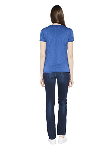 Colorado Denim Gina, T-Shirt Donna Blau (Indigo Blue 6079)