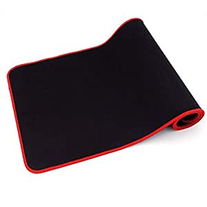 SPIN CART Thick Computer Keyboard Long, Non-Slip Base, Durable Stitched Edges Mousepad Mat, XXL for Both Gaming