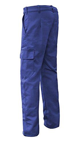 strongAnt Pantaloni da Lavoro Essen 260gr. Abiti da Lavoro da Uomo - Made in EU - Blu Scuro 50