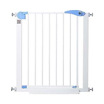 Porte de sécurité intérieure extra large avec barrière pour sécurité pour animaux de compagnie, porte pour animal de compagnie Protégez le protecteur de mur de rampe (taille: 152-158cm)