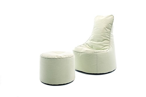 Sitting Bull Outdoor Set Chill Sessel und Hocker Hellgrün