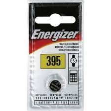 Energizer Silver Oxide Battery Watch, 395, 4 Pack