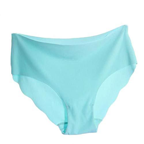 DOLDOA G-Schnur wäsche Set Brief Thong Set Pajamas Sleepwear Frauen unsichtbare Unterwäsche Tanga Baumwolle Spandex Gas Nahtlose Gabelung M/L - Spandex Tanga Unterwäsche