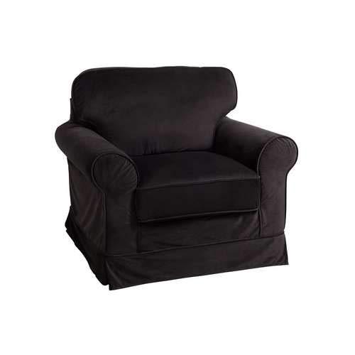 J-Line - Sillón negro. color Negro de estilo Clásico Chic ...