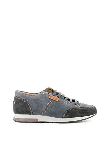 lacci camoscio grigio art GARY sneaker scarpa uomo 45 grigio
