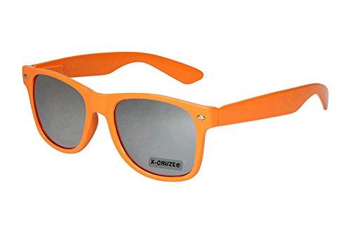 X-CRUZE 8-022 X 06 Nerd Sonnenbrille Style Stil Retro Vintage Retro Unisex Herren Damen Männer...