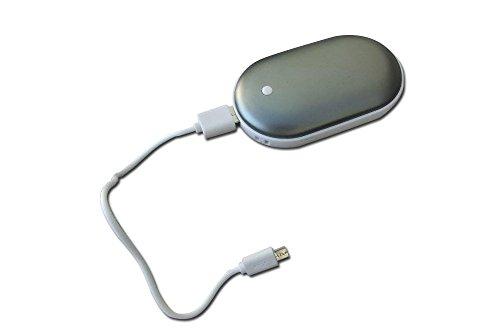 Things2KeepUWarm Leicht Mobile Power Bank 5000mAh und Handwärmer mit 3Heizstufen -