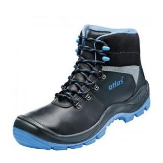 Atlas S3 Sicherheitsschuhe Arbeitsschuhe Stiefel SL 525 XP blue blau ESD (45)