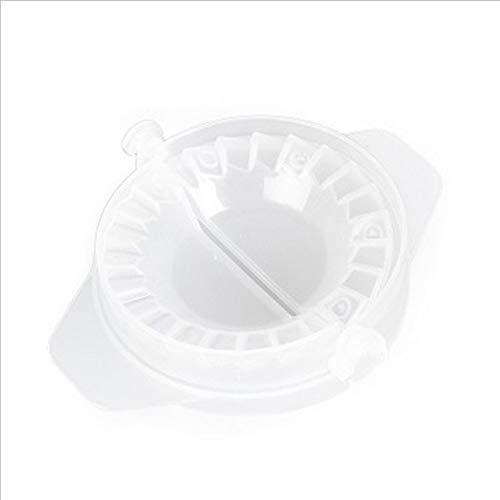 Deniseonuk Knödel-Klipp-Form, Plastikknödel-Form-manuelle Knödel-Form-Gerät-Satz-Knödel-Klipp-Maschine kreative Küchengeräte transparent