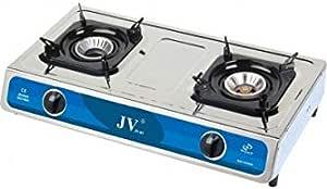 Cago Turbo Réchaud jv-04 ESG 3-brûleur 50 mbar-avec glaskochfeld-Réchaud