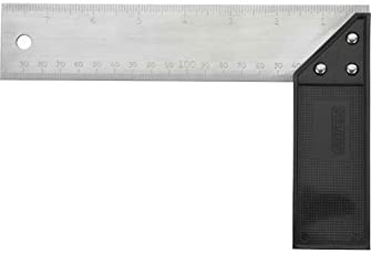 Stanley Aluminum and Plastic Try/Mitre Square Handle (Metallic, 8-inch)