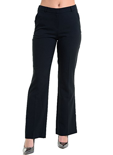 BHS -  Pantaloni  - Donna Bootcut Black
