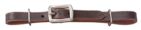 Tough-1 Miniature Flat Leather Curb Strap by Tough 1