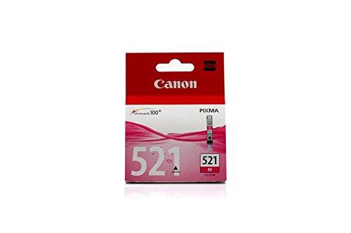 Preisvergleich Produktbild Original Tinte Canon CLI521M , CLI-521M 2935B001 , 2935B001AA - Premium Drucker-Patrone - Magenta - 447 Seiten - 9 ml