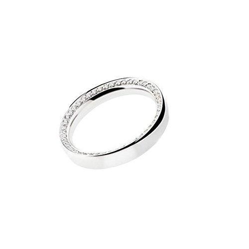 Fede Matrimoniale Polello Oro E Diamanti Kt.0.23