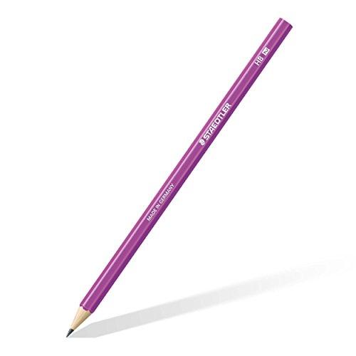 Staedtler 180 HB-F61 Bleistift Wopex HB, 12 Stück, neon lila