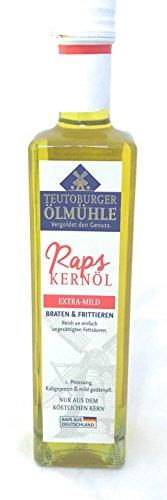 Teutoburger Ölmühle Raps-Kernöl zum Braten, 500ml