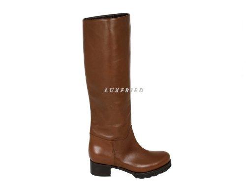 Daniele Tucci Bottes Chaussures pour Femme Shoe 7219 Marron - Marron moyen