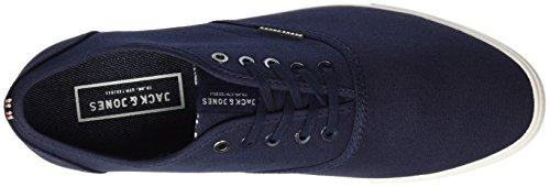Jack & Jones Jfwspider Canvas Navy Blazer, Sneakers Basses Homme Bleu (Navy Blazer)