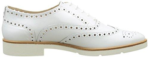 Jb Martin 1falba, Scarpe Stringate Basse Oxford Donna Blanc (Veau Bali White)