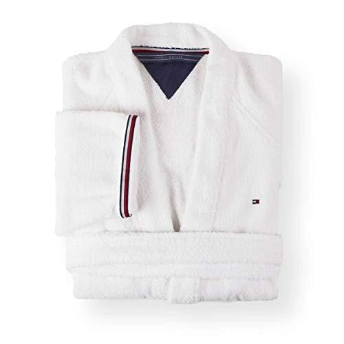 Tommy hilfiger kimono uni serie taglia xxl colore bianco