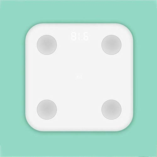 Candyboom XiaoMi Mi Escala de Grasa Inteligente Hogar Adulto Pérdida de Peso Humano Escala electrónica Peso Corporal Peso Corporal