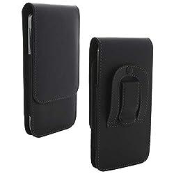 XiRRiX Handy Gürteltasche mit Stahlclip 4XL 3.2 / Tasche passend für Huawei Mate 10 Lite 20 Pro/Honor 9/10 Lite/P Smart 2019 - Handytasche schwarz