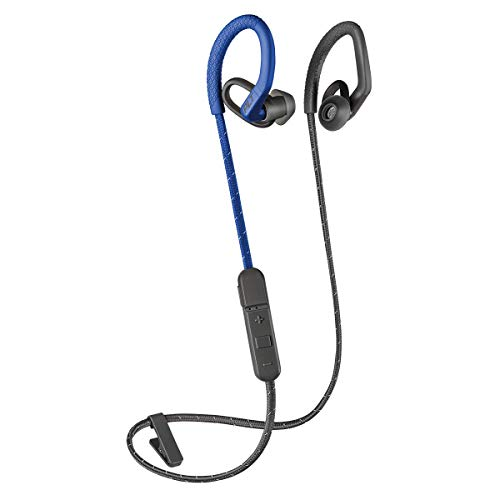 Plantronics BACKBEAT FIT 350 Bluetooth-Sport Headset/Kopfhörer, In-Ear Grau/Blau 350 Bluetooth
