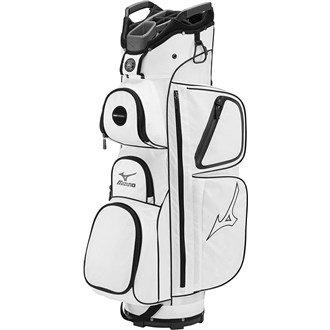 Mizuno Elite Sac de golf Taille unique blanc
