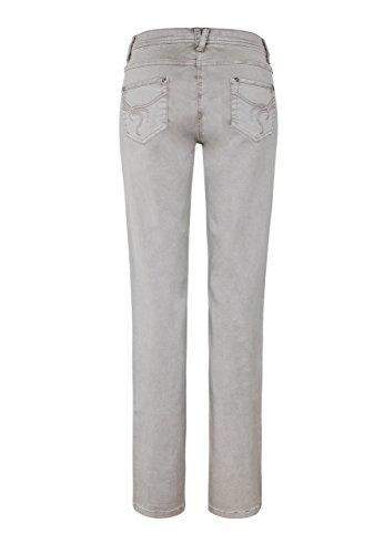 Million X Damen Jeans Victoria Power Colour Skinny Taupe