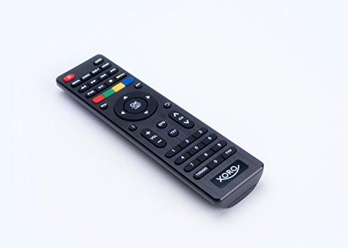 Xoro HSD 1011 Tragbarer DVD-Player mit DVB-T2 Tuner und 25,6 cm (10,1 Zoll) Bildschrim (DVB-T2 H.265 HEVC, USB 2.0, SDHC, Lithium Akku, Teleskop-Antenne, 12V Adapter, Fernbedienung) schwarz - 7