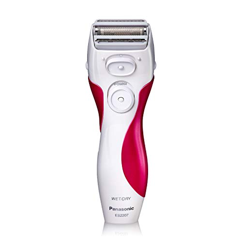 "Panasonic Es2207P Ladies 3-Blade ""Close Curves"" Wet/Dry Shaver-Pink/White"