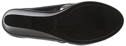 Lotus Trino, Ciabatte Donna Black (black Patent/snake)