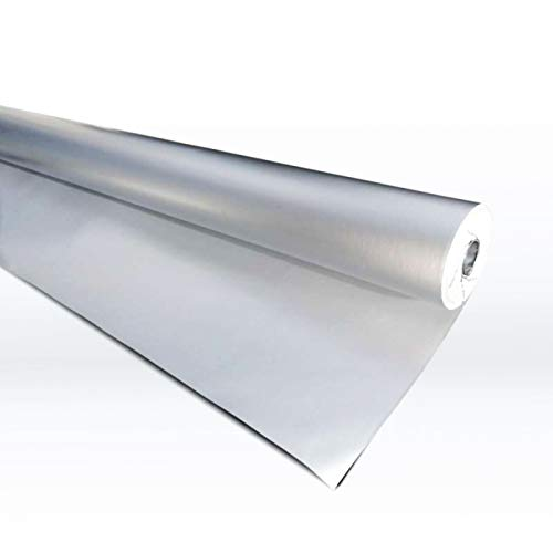 Spezielle robuste Dampfsperre für Saunabau, Aluminiumfolie, Alufolie, Sauna 30m2