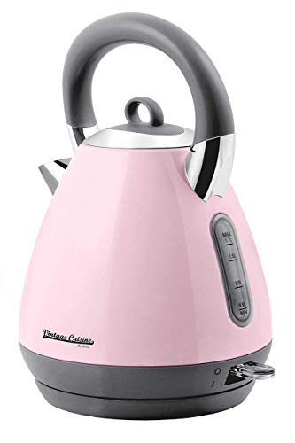 Wasserkocher Vintage Cuisine by Cooking 1800-2200W 1.70L (Pink)