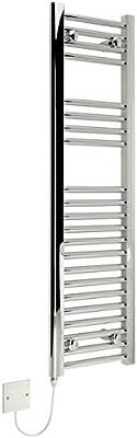 KUDOX–Toallero térmico eléctrico de 300x 1100mm soporte de cromo