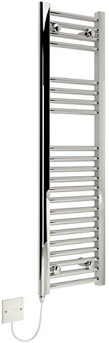 Kudox électrique Sèche-serviettes–300x 1100mm support Chrome