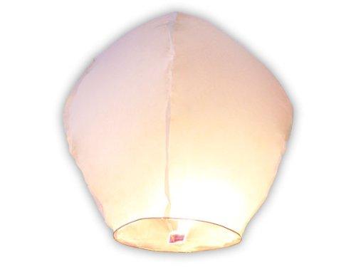Pack 10x Sky Linternas volantes chinas–Color blanco
