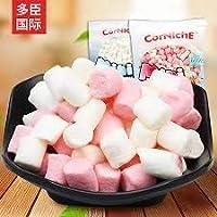 Captain Fruit Marshamllow (Halal) Multi Colour Pink & White Colour, 500g