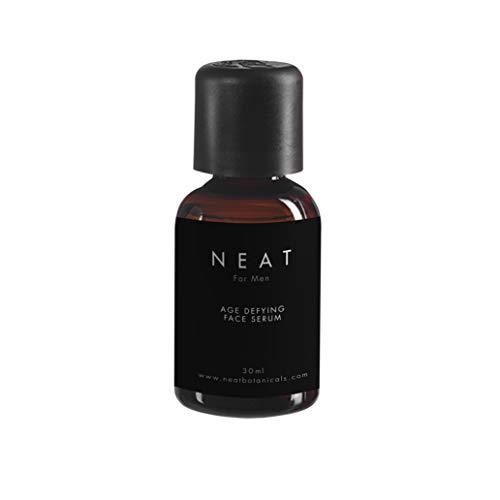 Anti Age Serum für Männer von NEAT 30ml I Anti Falten Gesichtsserum mit Vitamin E I Entfernt Altersflecken I Moisturizer mit ätherischen Ölen
